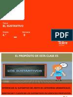 LE- 4to -El sustantivo I (PPT)