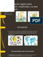Presentación digital sobre innovación, creatividad Jpino-Hhd