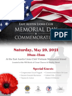 EALC - Memorial Day Commemoration_2021