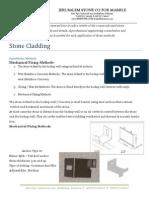 Stone Cladding Methods Jerusalem Stone