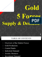 5 Forces of Gold