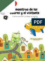 CUENTO EL MONSTRUO DE COLORES Y EL VISITANTE.