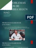 Los Problemas Basicos de Colombia Según Hag (1)