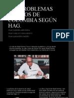 Los Problemas Basicos de Colombia Según Hag