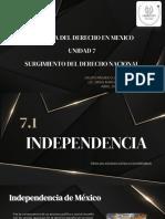 SURGIMIENTO DEL DERECHO NACIONAL