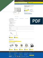 Proiector cu halogen, 189 mm, 1000W, alb Vito - Utilul