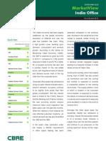 cb richard ellis report - india office market view - q3, 2010_final