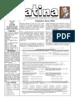 Datina - 13.05.2021 - prima pagină