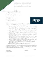 Surat Permohonan Beasiswa Bidik Misi per Siswa
