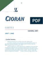 Emil Cioran - Caiete V1 1.0 10 '{ClasicRo}