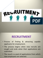 Recruitment,Types of recruitment
