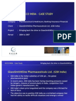 ECCO India Case Study - GSK Pharma