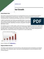 Solarbuzz - Solar Energy Market Growth - 2011-02-21