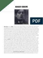 Mario Sironi biografia e opere