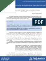 POLÍTICA NACIONAL DE ATENÇÃO BÁSICA  PRINCÍPIOS E DIRETRIZES