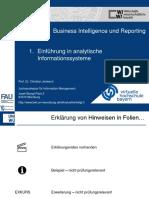 01_BIR_Einführung in analytische Informationssysteme