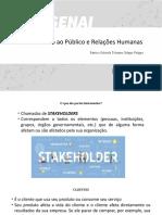 AULA 3 - Definição de Stakeholders