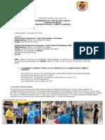 Informe de Activades Del Mes de Julio 2020 Ese Es
