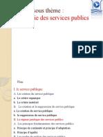La théorie des services publics