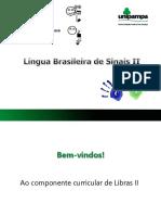 Apresentação Disciplina de Libras II - atual.pptx