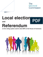 Referendum Booklet From Electoral Commission - England