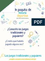 """""""JUEGOS SORDOLÍMPICOS TRADICIONALES/POPULARES"""""""