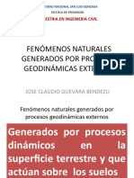 Fenómenos Naturales Generados Por Procesos Geodinámicas Externos RPoint