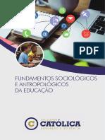 03-3617_Fundamentos Sociológicos e Antropológicos da Educação