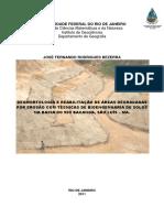 Geomorfologia e Reabilitação de Áreas Degradadas Por Erosão Com Técnicas de Bioengenharia de Solos Na Bacia Do Bacanga