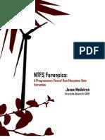 NTFS forensics