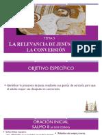 6. Tema 5 la relevancia de Jesús para la conversión