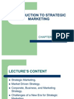 INTRODUCTION TO STRATEGIC MARKETING(chapter 1)