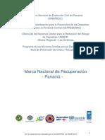 Marco de Recuperacion Panama