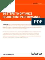 PDF_IDERA_10 Steps Optimize SharePoint Performance