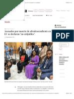"""La Jornada - Acusados por muerte de afrodescendiente en EU se declaran """"no culpables"""""""