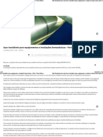 Aços inoxidáveis para equipamentos e instalações farmacêuticas  03_ Boas Práticas
