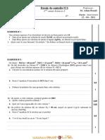 Devoir de Synthèse N°2 - Sciences physiques - 2ème Sciences (2010-2011) Mr Adam Bouali (1)