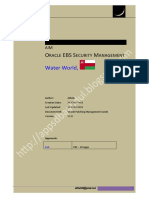 Oracle EBS Security Management