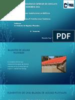 2.6 Cálculo de bajadas pluviales