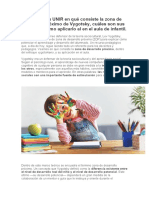 Descubre Con UNIR en Qué Consiste La Zona de Desarrollo Próximo de Vygotsky, Cuáles Son Sus Ventajas y Cómo Aplicarlo Al en El Aula de Infantil.