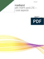 LTE and HSPA Economics
