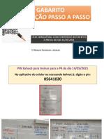 Slide Gabarito Lista Obrigatoria Prova 14Maio2021 6ano Prof.Mara