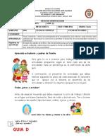 GUIA (D) DE TRABAJO  DE ETICA Y VALORES UNDECIMO GRADO