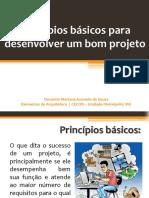 Principios para desenvolver um bom projeto arquitetonico