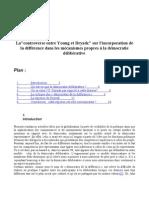 Lacontroverse Entre Young Et Dryzek Sur l'Incorporation de La Dif