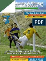 8th Phuket International Soccer 7s Tournament Magazine