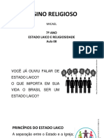 Ensino Religioso 7 ano Paraná