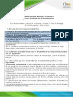 Guía Para El Desarrollo Del Componente Práctico y Rúbrica de Evaluación - Unidad 3 - Fase 4 - Realizar Componente Practico Del Curso - Tutor Práctica