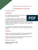 Código Procesal Civil 2021