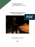Dissertação sobre Hugo Rodas